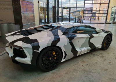 Lamborghini Aventador Camouflage